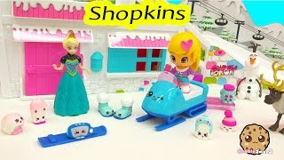8 New Shopkins Season 5 Playset Frosty Fashion Collection with Elsa Cookieswirlc Video