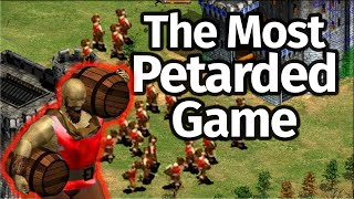 """The Most """"Petarded"""" AoE2 Game!"""