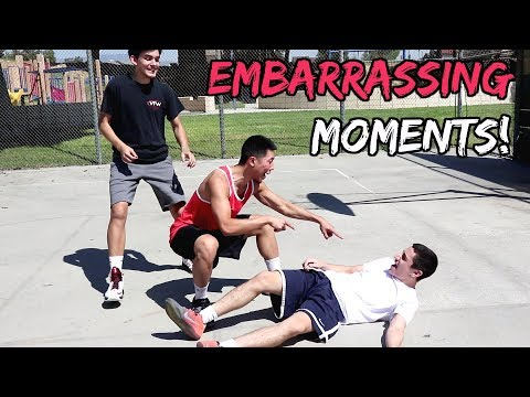 Embarrassing Moments in Pickup Basketball! (видео)