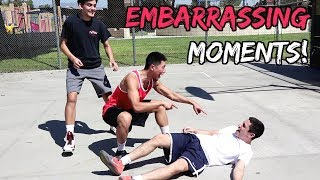 Embarrassing Moments in Pickup Basketball!