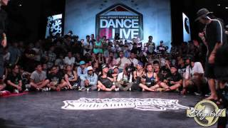 Ippy The King, El Nino, Double U...// .BBoy World // SEVEN TO SMOKE | RADIKAL FORZE JAM 2014