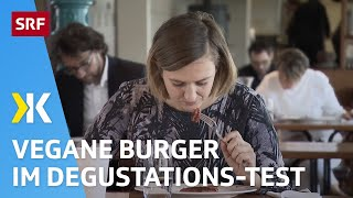 Vegane Burger im Degu-Test: Von «muffig» bis «gut»   2020   SRF Kassensturz