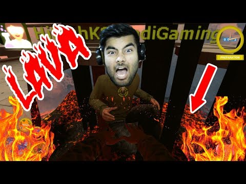 MYTHPAT NE HITESH KS KO JALA DALA | Floor is lava #1