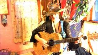 Hot sexy(Original new, Acoustic,Cow,girl,kashmir,country,western,song,naked,chaps,kashmir