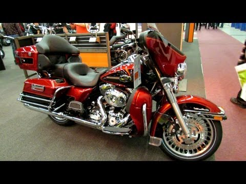 2012 Harley-Davidson Touring Ultra Classic Electra Glide at 2012 Montreal Motorcycle Show