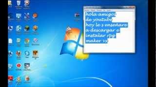 Como Descargar E Instalar Rpg Maker Vx