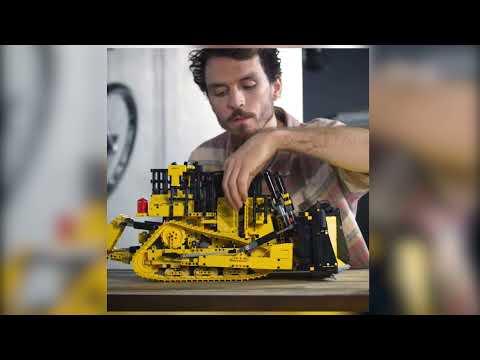 Vidéo LEGO Technic 42131 : Bulldozer D11 Cat télécommandé