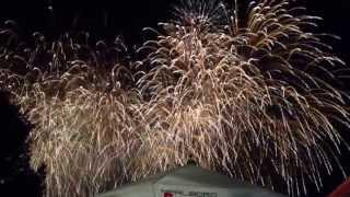2013 Kölner Leechter fireworks July