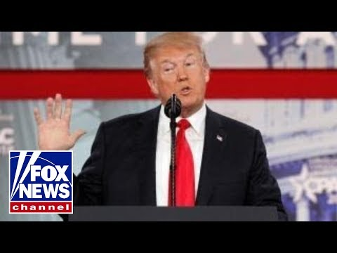 President Trump fires up his conservative base at CPAC