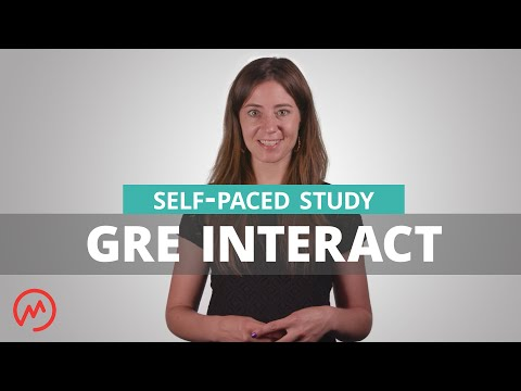 GRE Interact | Self-Paced Course - YouTube