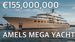 €155 Million Largest AMELS Super Yacht HERE COMES THE SUN (private Tour)