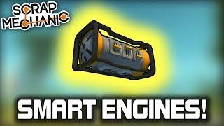 Smart Engine Tutorial And Simple Plane Controls Setup! (Scrap Mechanic #367)