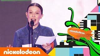 Pidato Positif Millie Bobbie Brown di Kids Choice Awards