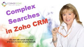Zoho CRM Quick Tip: Searching your database