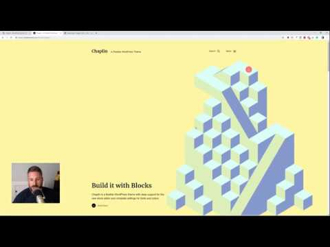 Chaplin WordPress theme + Gutenberg homepage demo setup! Best FREE WordPress theme 2019?