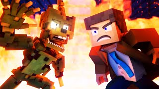 "EnchantedMob | ""Break The Cycle"" FNAF Minecraft Music Video"