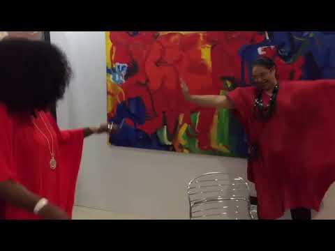 TYBello at ART X LAGOS 2017