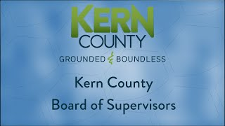 Kern County Board of Supervisors 9:00 a.m. meeting for Tuesday, June 30, 2020