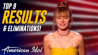 American Idol RESULTS: Ryan Seacrest Announces The TOP 9 After America's Instant Live Voting!