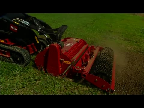 Dingo Soil Cultivator Attachment