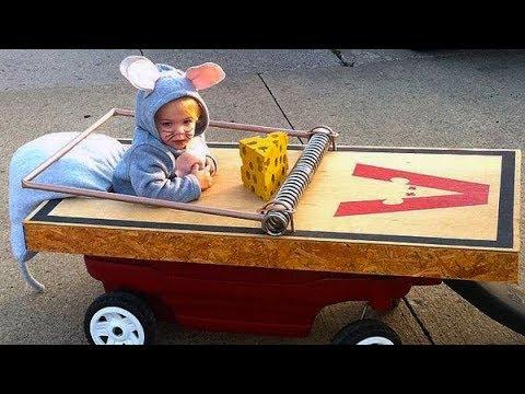 Ich wette du kannst nicht aufhören zu lachen - lustige BABIES Halloween Kostüme 2017