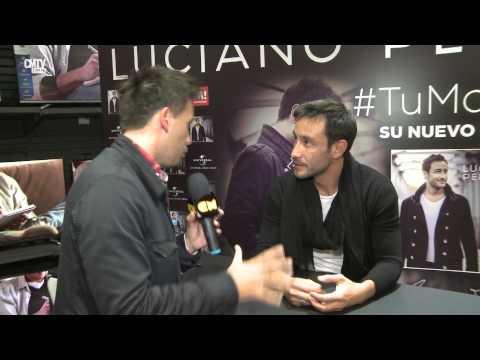 Luciano Pereyra video Tu mano - Entrevista y firma de disco