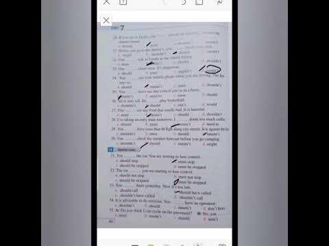 talb online طالب اون لاين حل تدريبات علي جرامر الوحده السابعه أولي ثانوي  مريم احمد عبدالستار