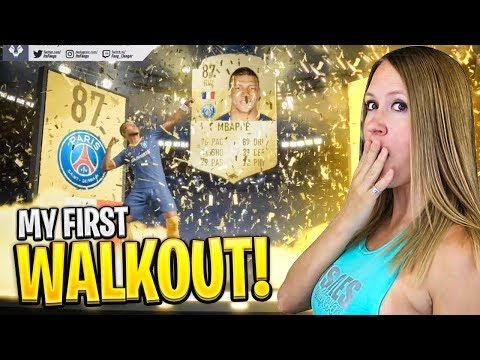 MY FIRST WALKOUT MBAPPE!! FIFA 19 PACK OPENING!