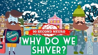 Why do we shiver? #90SecondNeuro