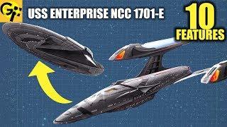 USS Enterprise NCC 1701-E: 10 Little Known Features (Star Trek)
