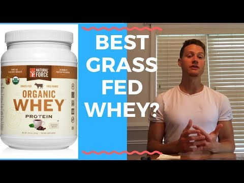 Natural force organic whey protein review