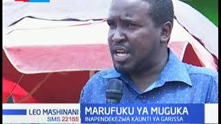 MARUFUKU YA MUGUKA: Wenyeji watoa hisia zao kuhusiana na pendekezo la Kaunti ya Garissa