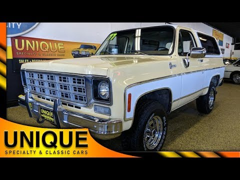 Video of '77 Chevrolet Blazer Offered by Unique Specialty And Classics - PB02