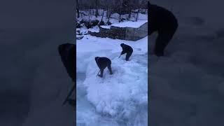 Замерзает река Талгарка