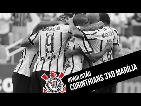#Paulistão | Corinthians 3x0 Marília