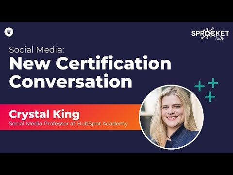 HubSpot Academy Social Media Certification with Crystal King ...