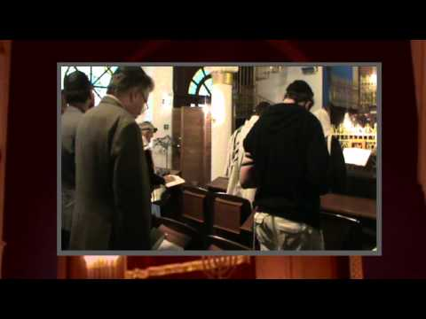 Утренняя молитва в Синагоге