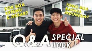 TOMO MALU SAMA KELAKUAN JEROME?! | Q&A Special 100k Subscribers (Eng Sub)