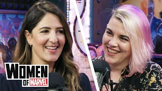 D'Arcy Carden Talks 'The Good Place' and Improv Comedy   Women of Marvel
