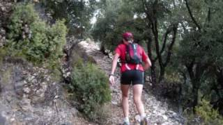 preview picture of video 'XIII Ultra Trail Cuerpo, Mente y Alma en Javalambre con Trangoworld 2008'
