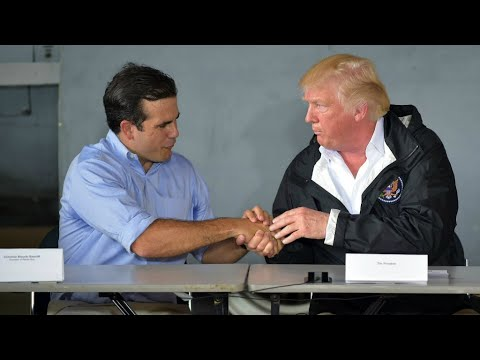Trump claims Hurricane Maria death toll made up by Democrats