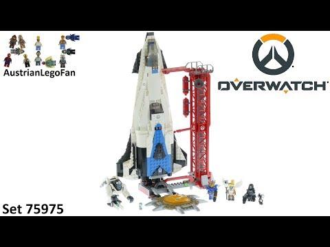 Vidéo LEGO Overwatch 75975 : Observatoire : Gibraltar