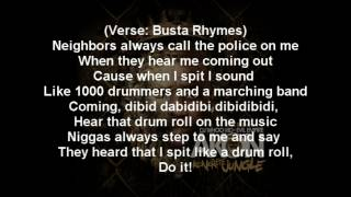 Akon - Call Da Police Ft. Busta Rhymes Lyrics Video