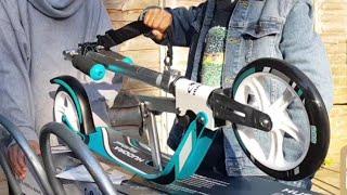 HUDORA BigWheel 205-Das Original mit RX Pro Technologie-Tret-Roller City-Scooter   Unboxing