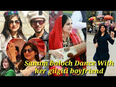 Sanam Baloch Dance || With Her Gilgiti Boyfriend In Gilgit Baltistan | Pakistani Model Viral Video