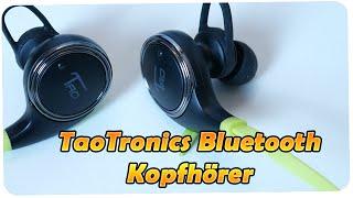 TaoTronics Bluetooth Kopfhörer 4.0 Wireless Sport Stereo Headset [Deutsch] 4K