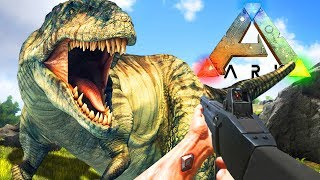 TAMING THE 2ND LARGEST DINO!! ARK: SURVIVAL EVOLVED