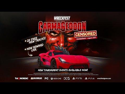 Wreckfest - August 2021 Tournament: Carmageddon de Wreckfest