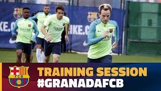 Return to training along with Rakitic and Mascherano