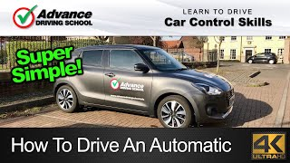 How To Drive An Automatic Car  |  Learn to drive: Car control skills